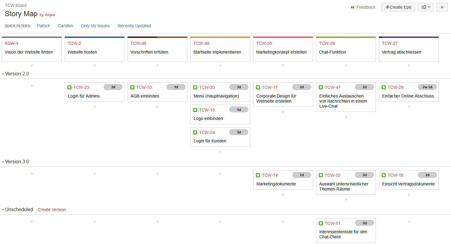 story-map-in-jira