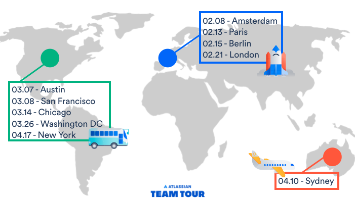 Atlassian Team Tour 2018