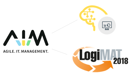 Predictive Logistics: AIM auf der LogiMAT 2018