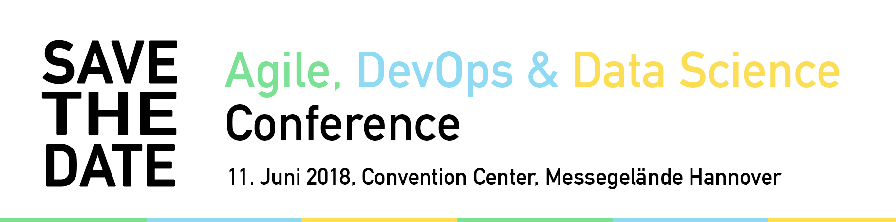 Save the Date: Agile, DevOps & Data Science Conference