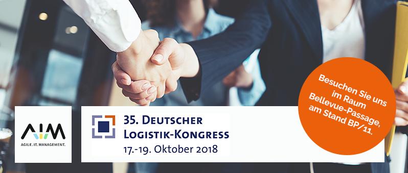 AIM auf dem Deutschen Logistik-Kongress