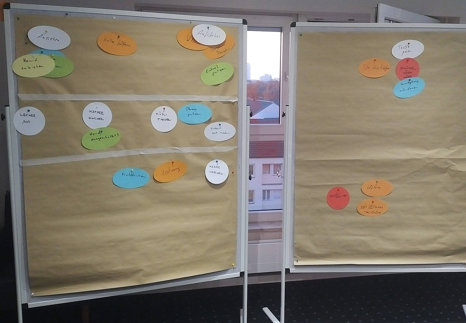 Agile Methoden Story Map