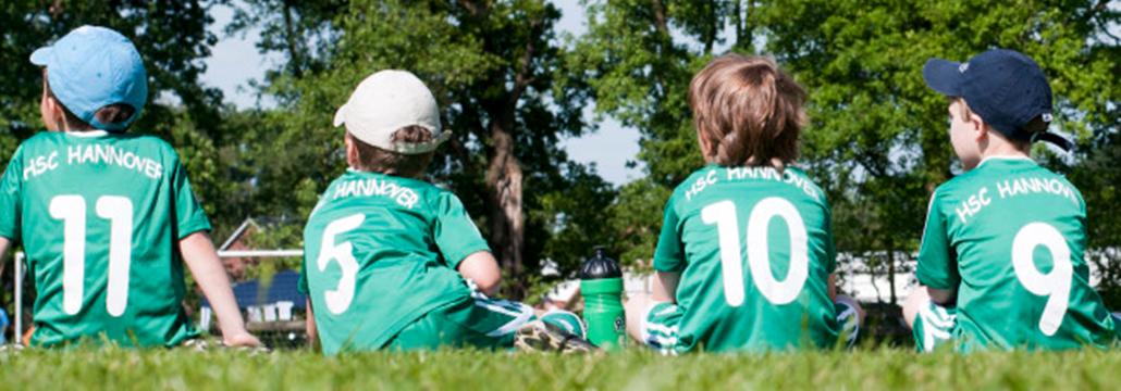 AIM ist Sponsor der HSC Fußball Kids U 10 II