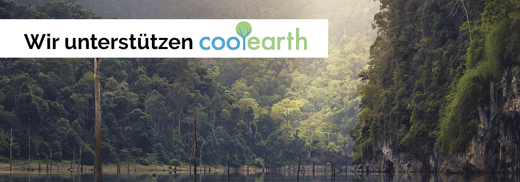 AIM ist Sponsor der Wohltätigkeitsorganisation Cool Earth