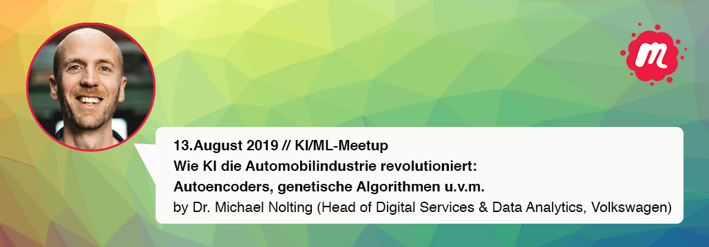 Ideen Boulevard 2019: KI/ML Meetup bei Meet The Meetups