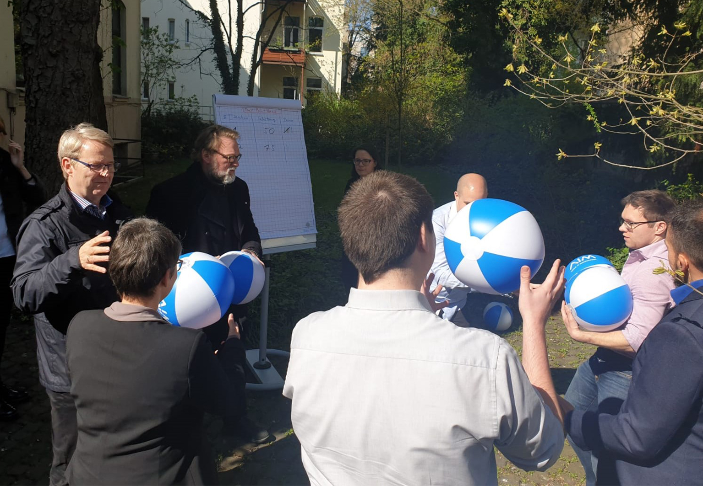 Agile Impuls Workshop Ball Spiel AIM
