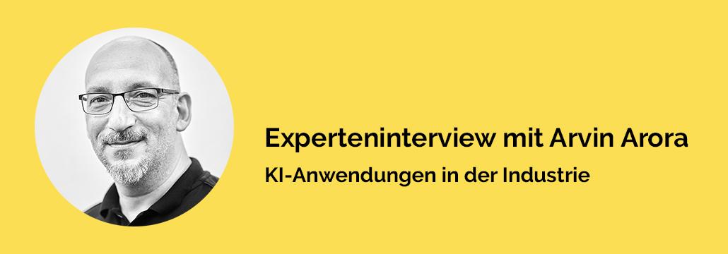 Experteninterview zu KI Anwendungen in der Industrie