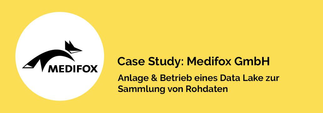 Case Study: MediFox GmbH – Anlage & Betrieb eines Data Lake zur Sammlung von Rohdaten