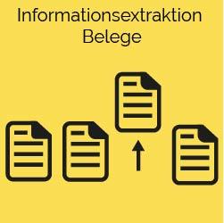 informationsextraktion belege