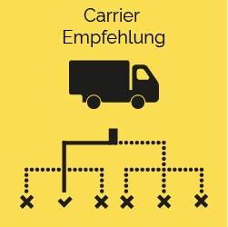 Carrier Empfehlung ki logistik predictive supply chain