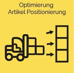 Optimierung Artikel Positionierung predictive supply chain ki logistik