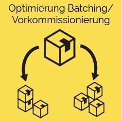 Optimierung Batching Vorkommissionierung ki logistik predictive supply chain